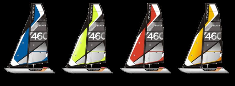 minicat 460 Elite segelboot Farben