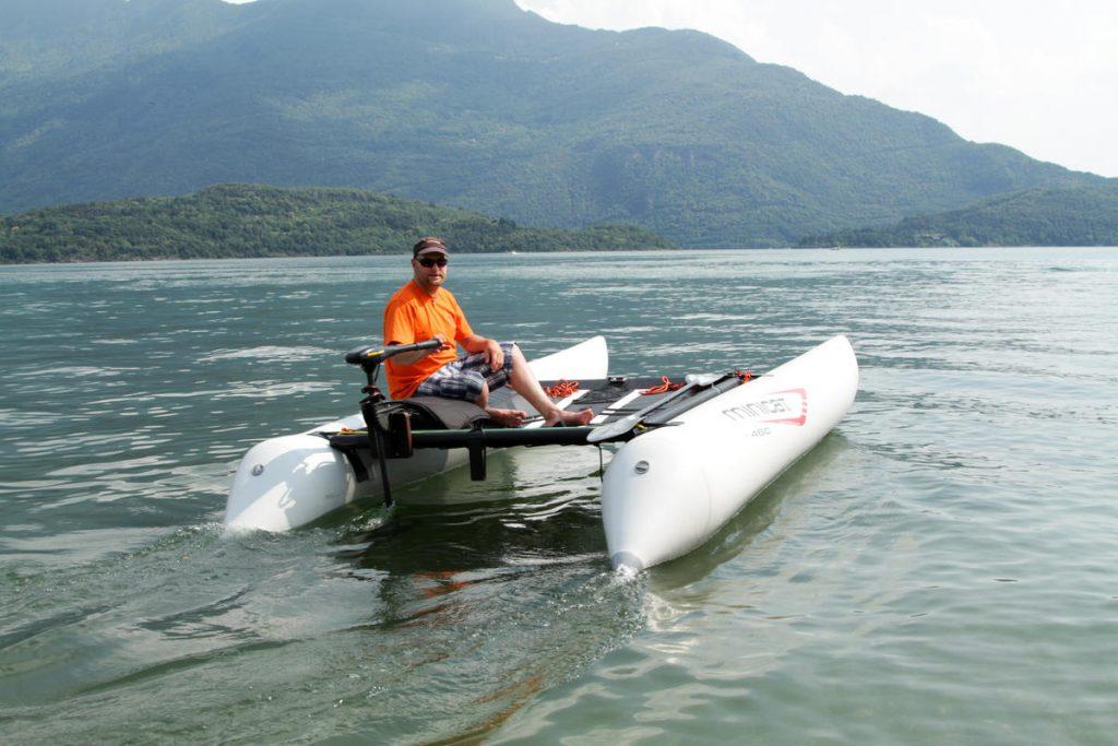 Außenboard Motor Segelboot